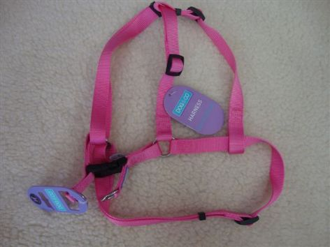 Pink Dog Harness By Dog & Co